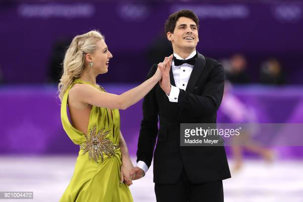 Piper Gilles and Paul Poirier of Canada compete in the Figure Skating Ice Dance Free Dance on day eleven of the PyeongChang 2018 Winter Olympic Games...