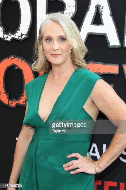 Piper Kerman attends the Orange is the New Black final season world premiere at Alice Tully Hall Lincoln Center on July 25 2019 in New York City