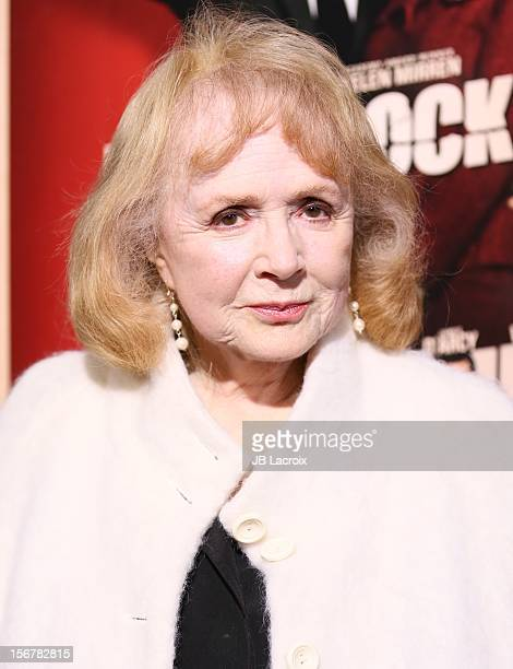 Piper Laurie attends the Hitchcock Los Angeles Premiere at the Academy of Motion Picture Arts and Sciences on November 20 2012 in Beverly Hills...