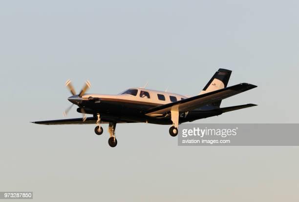 Piper PA46310P Malibu on finalapproach