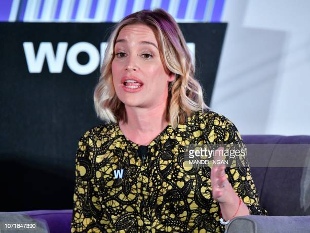 Piper Perabo Actor and activist speaks during the 6th Annual Women Rule Summit at a hotel in Washington DC on December 11 2018