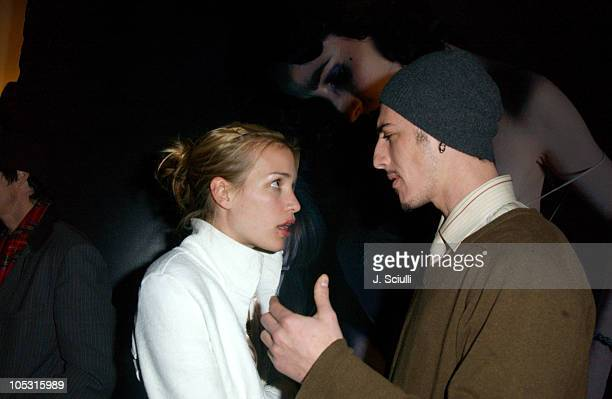 Piper Perabo and Eric Balfour during Gottfried Helnwein and Bryten Goss Print Exhibition Hosted by Danny Masterson at Downtown Independent Gallery in...