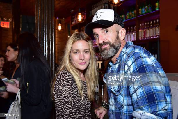 Piper Perabo and Stephen Kay attend the ICM Partners Upfronts party on May 15 2018 in New York City