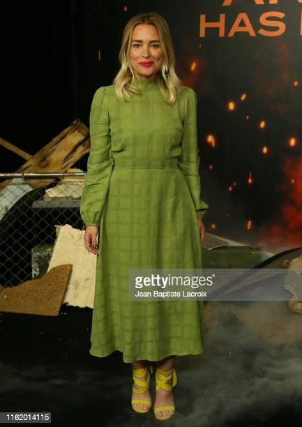 """Piper Perabo attends a photocall for Lions Gate's """"Angel Has Fallen"""" at the Beverly Wilshire Four Seasons Hotel on August 16, 2019 in Beverly Hills,..."""