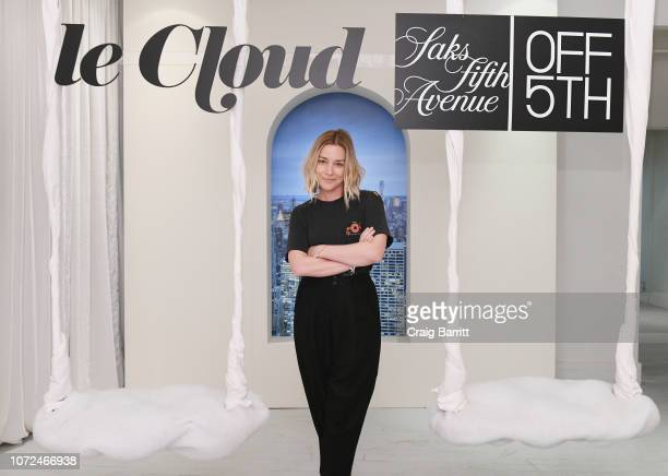 Piper Perabo attends Amy Schumer Leesa Evans Host Le Cloud Launch Event With Saks OFF 5TH on December 12 2018 in New York City
