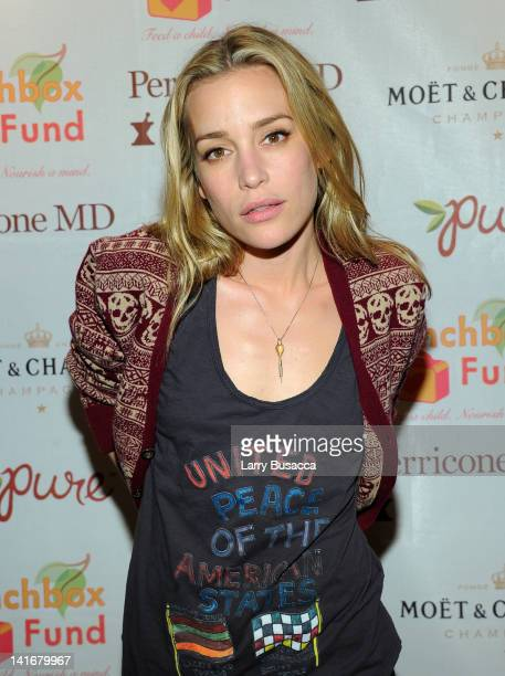 Piper Perabo attends the 2012 Lunchbox Fund Bookfair auction at Del Posto on March 21 2012 in New York City