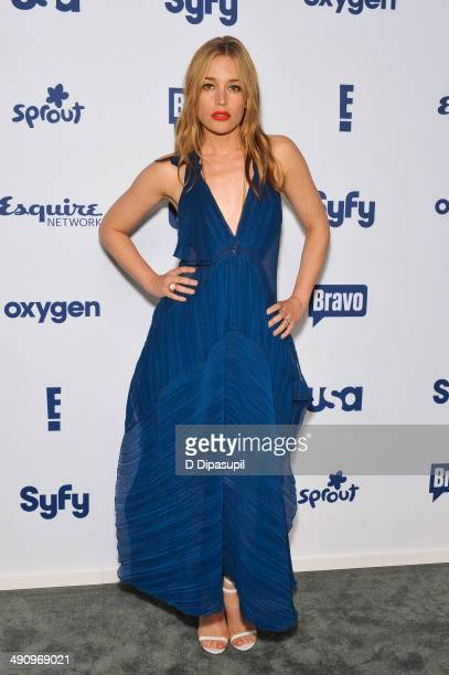 Piper Perabo attends the 2014 NBCUniversal Cable Entertainment Upfronts at The Jacob K Javits Convention Center on May 15 2014 in New York City
