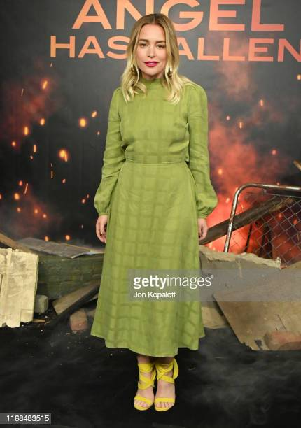 Piper Perabo attends the Photocall For Lions Gate's Angel Has Fallen at the Beverly Wilshire Four Seasons Hotel on August 16 2019 in Beverly Hills...