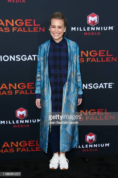 Piper Perabo attends the LA Premiere of Lionsgate's Angel Has Fallen at Regency Village Theatre on August 20 2019 in Westwood California