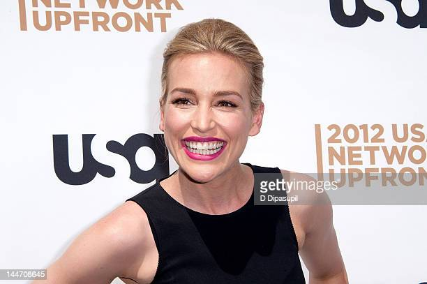 Piper Perabo attends the USA Network's 2012 Upfront Event at Alice Tully Hall on May 17 2012 in New York City