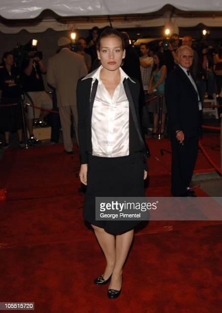 Piper Perabo during 2005 Toronto Film Festival Edison Premiere Red Carpet at Roy Thompson Hall in Toronto Ontario Canada