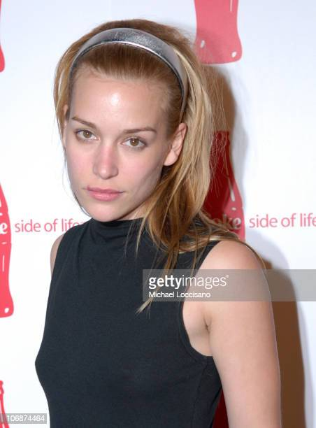 Piper Perabo during CocaCola's Coke Side Of Life Launch Party with a Performance by NeYo March 30 2006 at Capitale in New York City New York United...