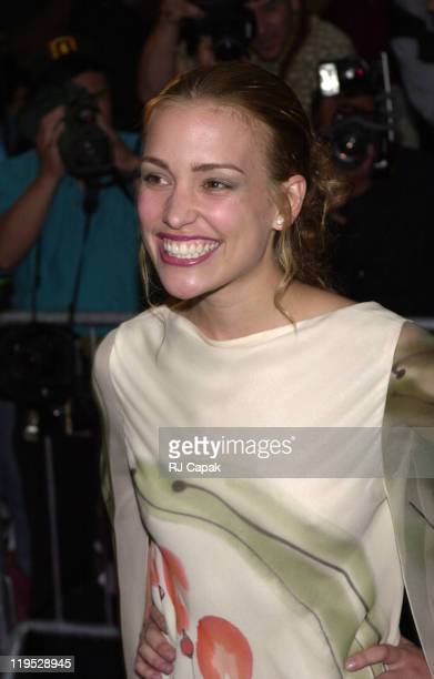 Piper Perabo during Coyote Ugly New York Premiere at Ziegfeld Theatre in New York City New York United States