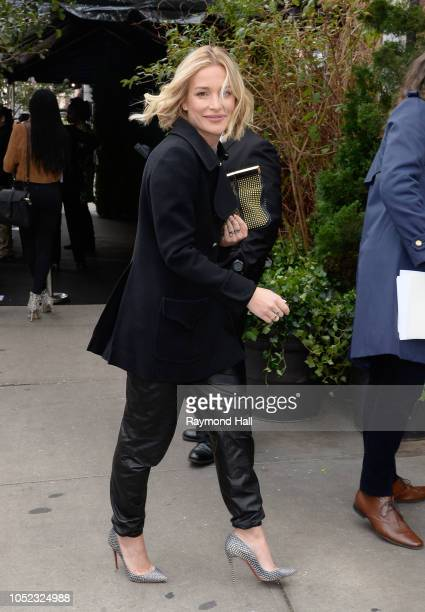 Piper Perabo is seen on October 16 2018 in New York City