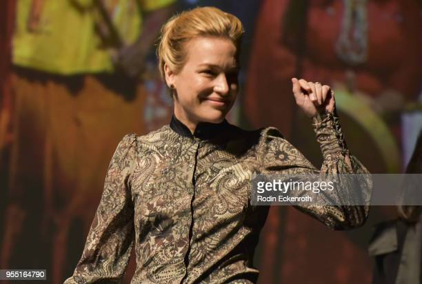Piper Perabo on stage at The United State of Women Summit 2018 Day 1 on May 5 2018 in Los Angeles California
