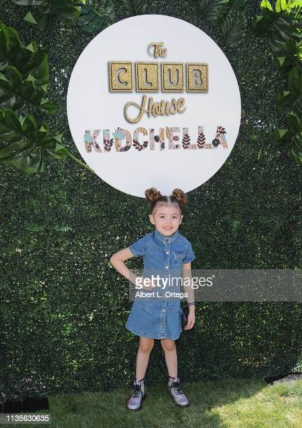Piper Rubio arrives for Clubhouse Kidchella held at Pershing Square on April 6 2019 in Los Angeles California