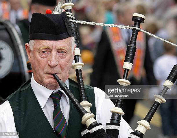 CONTENT] A piper taking part in the annual Twelfth of July parade in Hillsborough County Down Picture Cliff Donaldson