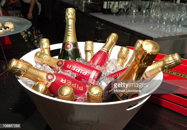 Piper-Heidsieck Champagne during Jacob & Co. And Helena Christensen Celebrate the New Ad Campaign and Ladies Fine Jewelry Collection at The SoHo...