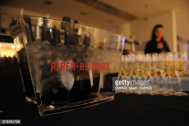 Piper-Heidsieck champagne with flutes