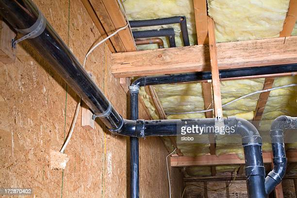 Pipes Under House