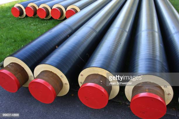 Pipes used for district heating
