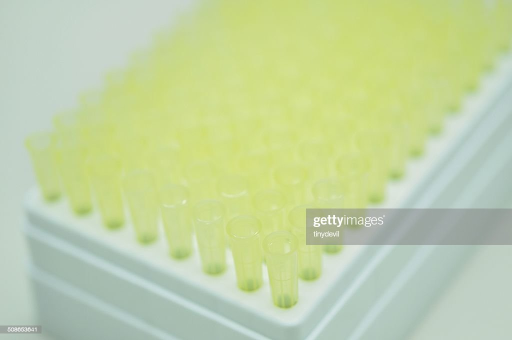 Pipette tips : Stock Photo