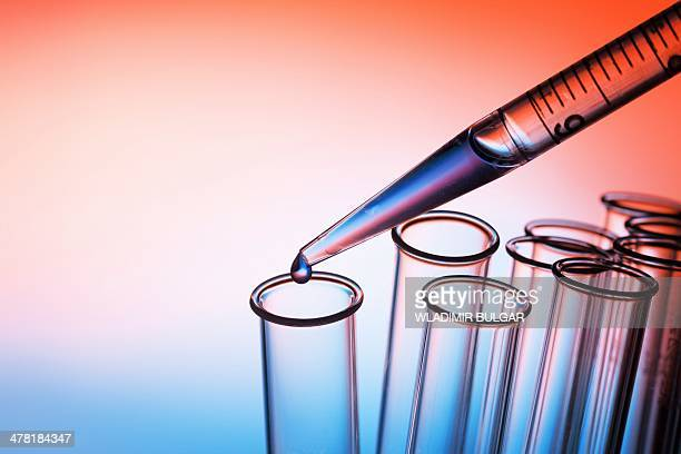 Pipetting liquid