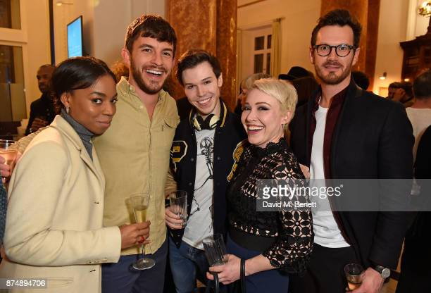 Pippa Bennett Warner Jonathan Bailey guest Daisy Lewis and Matt Lamb attend Canada Goose x London Celebrating London Flagship Opening and 60th...