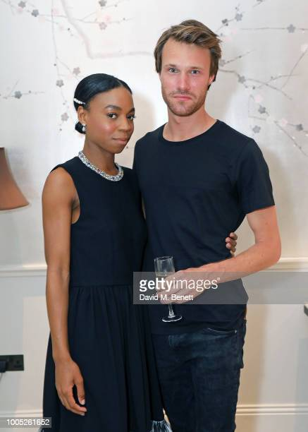 Pippa BennettWarner and Hugh Skinner attend a sparkling affair at Boodles in celebration of Pippa BennettWarner's 30th birthday and the recent...