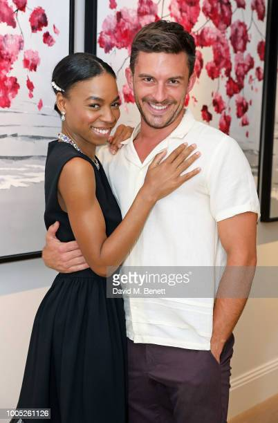 Pippa BennettWarner and Jonathan Bailey attend a sparkling affair at Boodles in celebration of Pippa BennettWarner's 30th birthday and the recent...