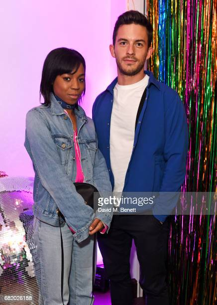 Pippa BennettWarner and Jonathan Bailey attend the launch of The Curtain in Shoreditch on May 11 2017 in London England