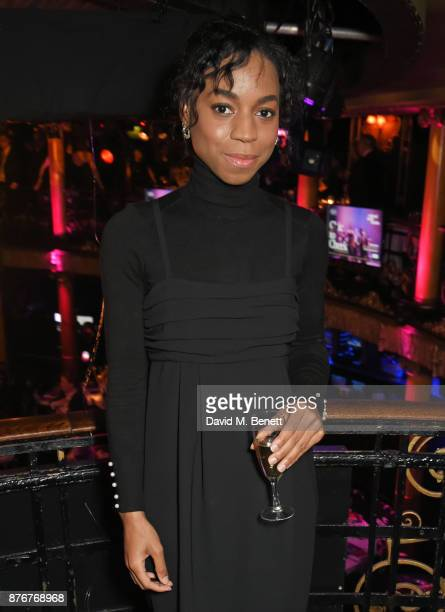 Pippa BennettWarner attends Chic To Cheek The National Youth Theatre Gala at Cafe de Paris on November 20 2017 in London England