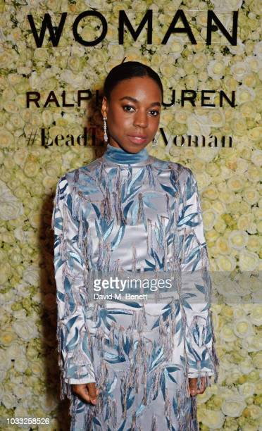 Pippa BennettWarner attends the European launch of WOMAN by Ralph Lauren hosted by Jessica Chastain at Isabel on September 14 2018 in London England