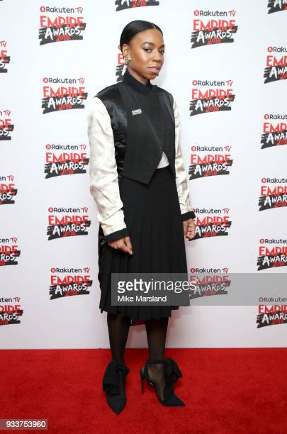 Pippa BennettWarner attends the Rakuten TV EMPIRE Awards 2018 at The Roundhouse on March 18 2018 in London England