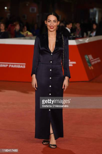 """Pippa Bianco attends the red carpet of the movie """"Share"""" during the 14th Rome Film Festival on October 25, 2019 in Rome, Italy."""