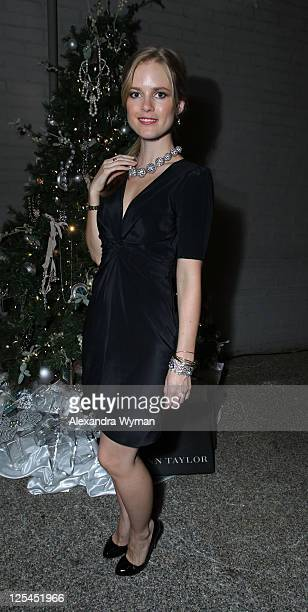 Pippa Black at The Ann Taylor Heidi Klum Holiday Dinner held at The Palihouse on November 4 2010 in West Hollywood California