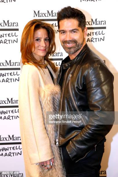 Pippa Cohen and guest attend the Max Mara 'Prism in Motion' Eventas with the presentation of the new collection Capsule of sunglasses Max Mara...