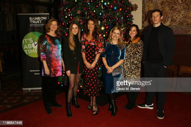 Pippa Haywood, Diana Vickers, Annabel Croft, Cressida Cowell, Jilly Halfpenny and Callum Turner attend the Rainbow Trust Carol Concert at St Paul's...
