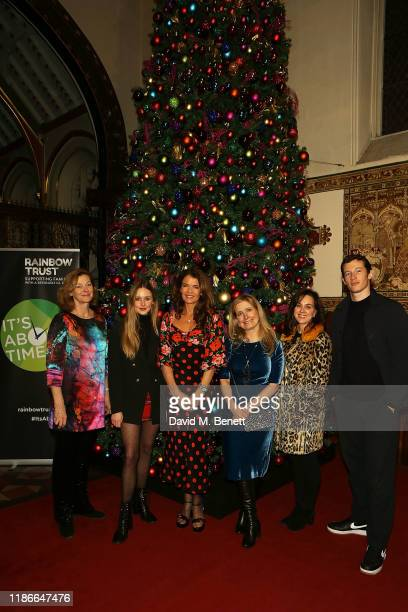 Pippa Haywood Diana Vickers Annabel Croft Cressida Cowell Jilly Halfpenny and Callum Turner attend the Rainbow Trust Carol Concert at St Paul's...