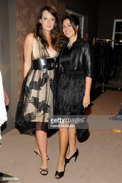 Pippa McArdle and Gigi Ganatra attend JOSEPH ALTUZARRA Private Cocktail Party at THE WEBSTER at The Webster on December 5, 2009 in Miami Beach,...