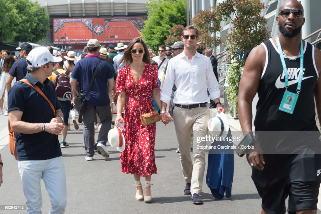* CORBIS - Celebrities At 2018 French Open