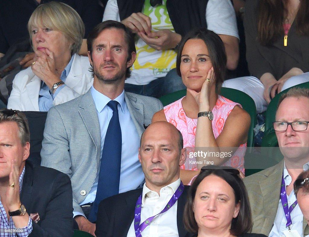 Celebrities Attend Wimbledon : Foto di attualità