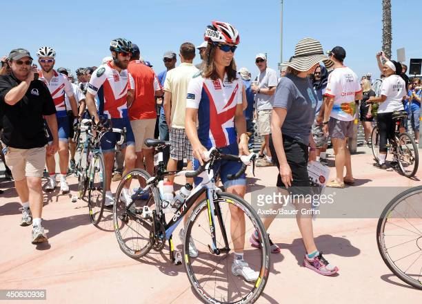 Pippa Middleton and James Middleton are seen at the Race Across America event in Oceanside California on June 14 2014 in San Diego California