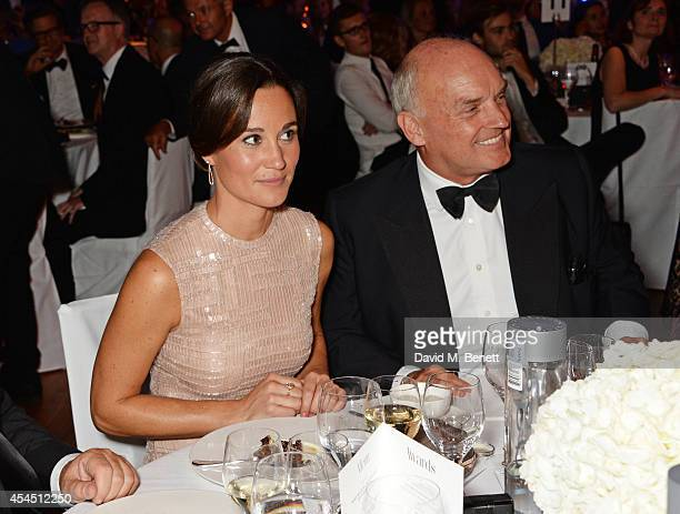 Pippa Middleton and Nicholas Coleridge attend the GQ Men Of The Year awards in association with Hugo Boss at The Royal Opera House on September 2,...