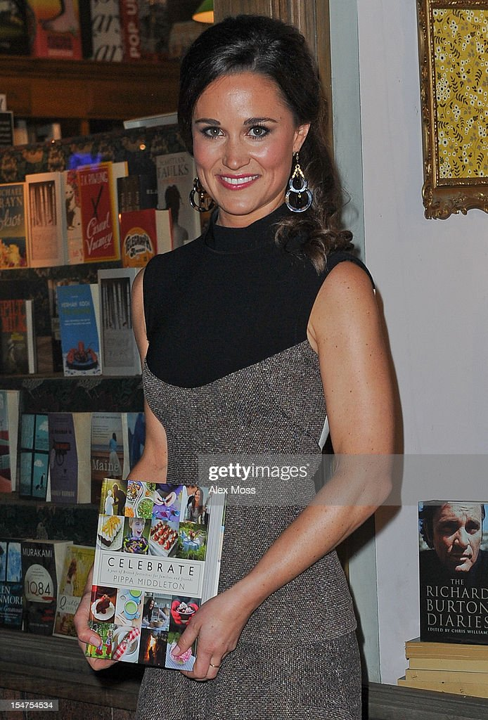 Pippa Middleton Book Launch - Sightings In London - October 25, 2012 : News Photo