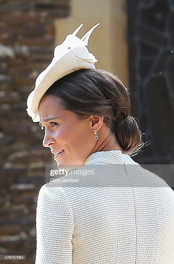 The Christening Of Princess Charlotte Of Cambridge : Fotografía de noticias