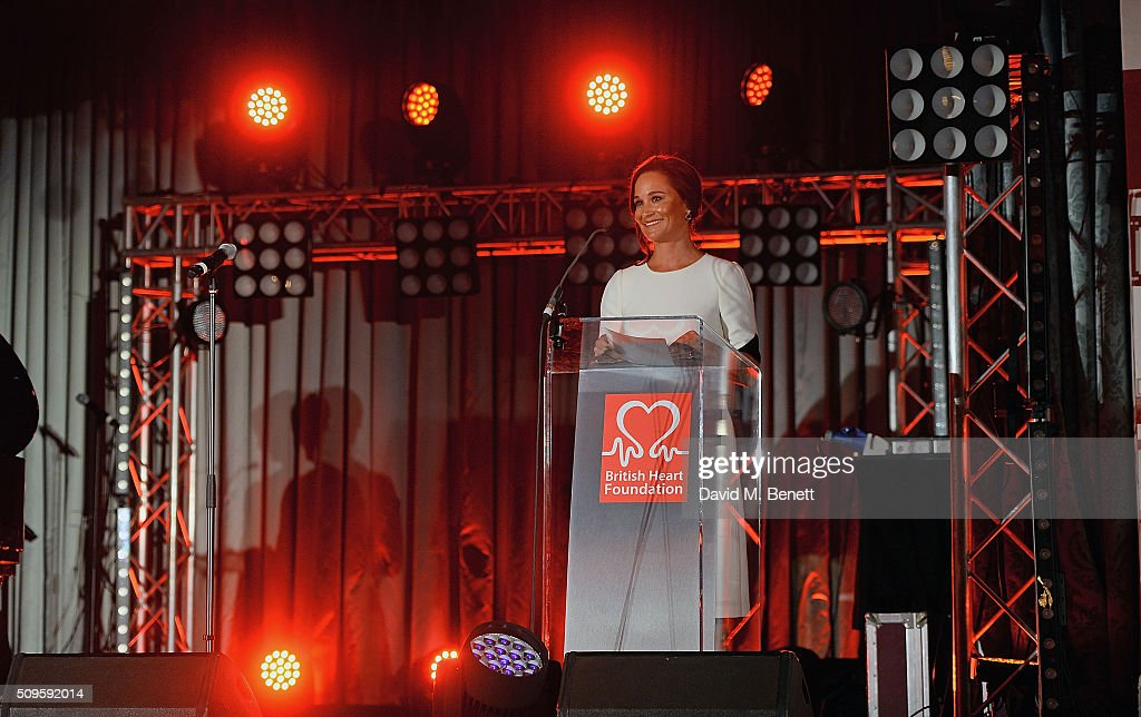 British Heart Foundation: Roll Out The Red Ball - Drinks Reception : News Photo