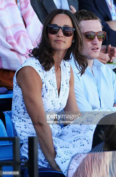 Pippa Middleton attends day two of the Aegon Championships at Queens Club on June 10, 2014 in London, England.