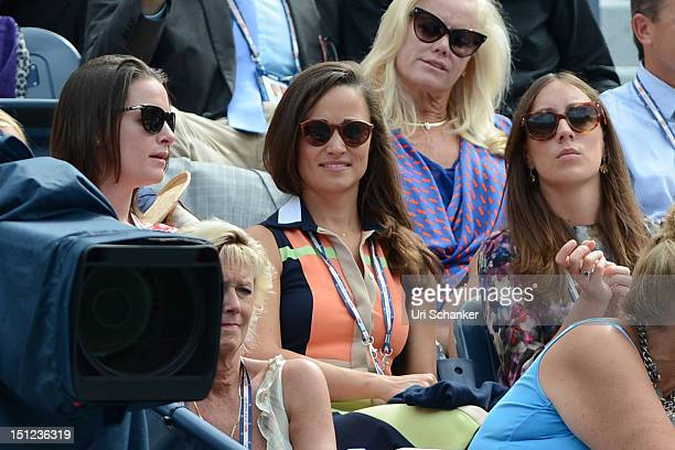 Pippa Middleton attends the 2012 US Open at USTA Billie Jean King National Tennis Center on September 4 2012 in New York City