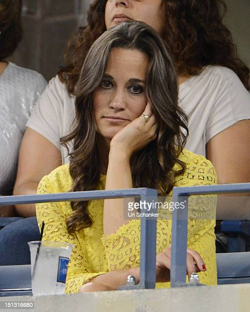 Pippa Middleton attends the 2012 US Open at USTA Billie Jean King National Tennis Center on September 5 2012 in New York City